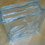 Glass Brick Money Box #1