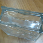 Glass Brick Money Box #3