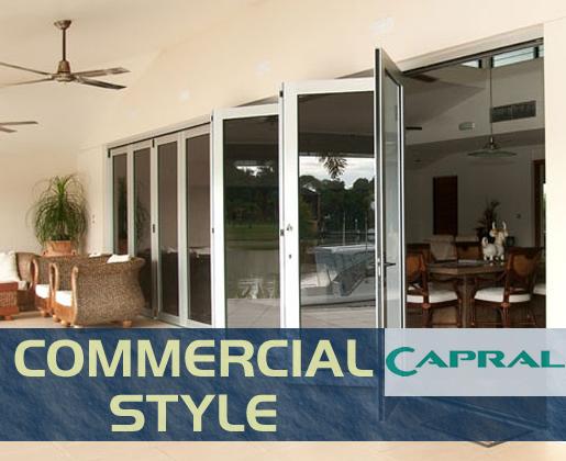 Commercial Style Aluminium Windows and Doors