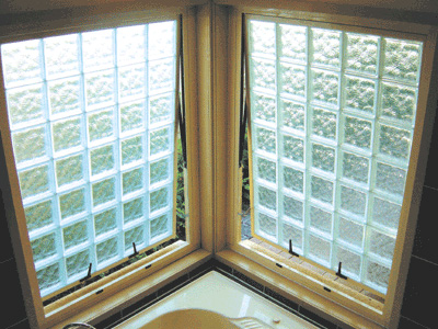Blokup Glass Block Awning Window