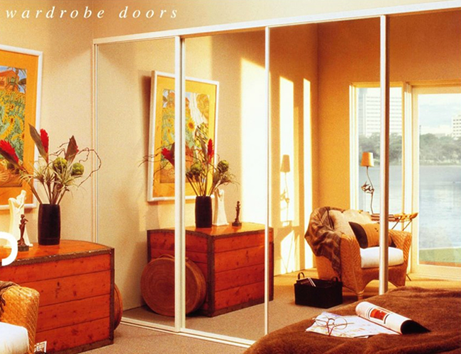 Mirror Wardrobe Door