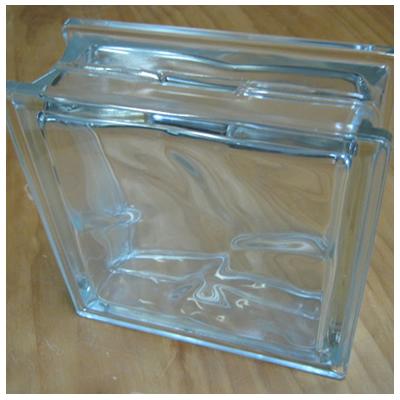 Glass Brick Money Box